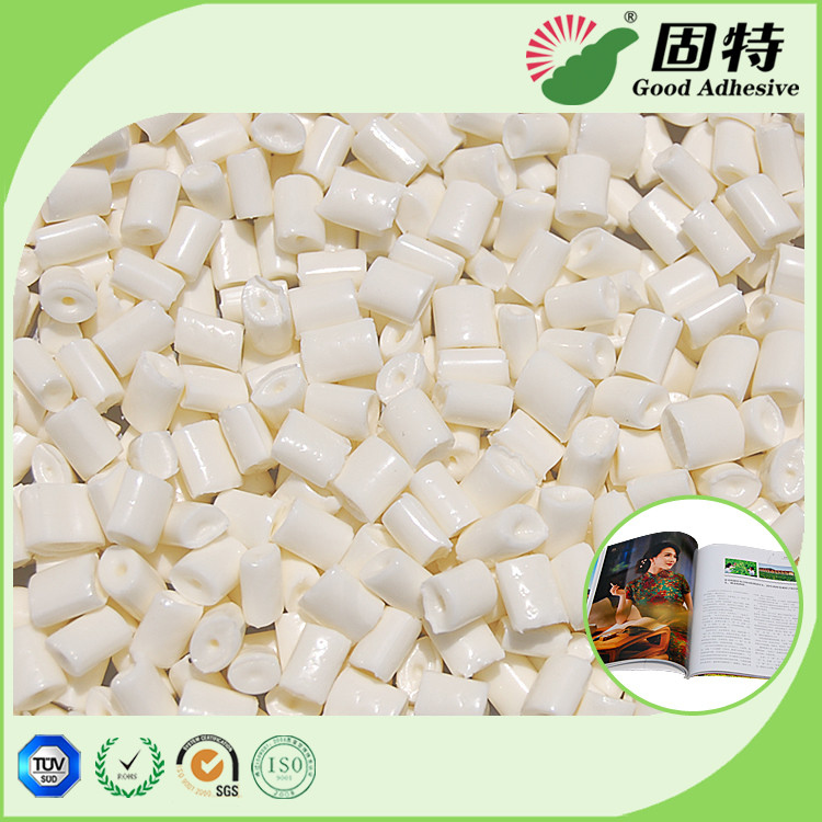 EVA Milk White and High Grams Coated Paper Bookbinding Hot Melt Glue Adhesive and Paper Machine With High Quality