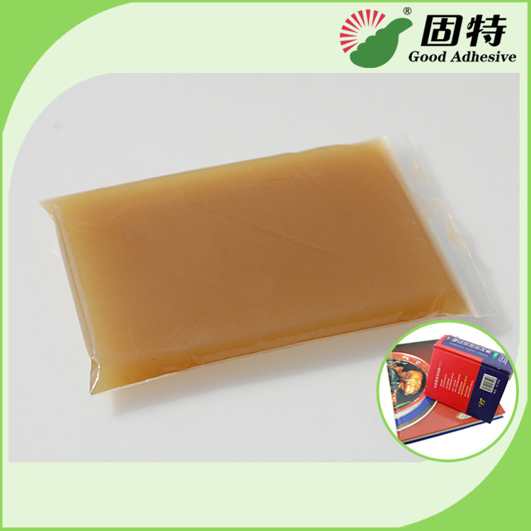 Amber Block Bookbinding Hot Melt Glue For  Book-Facing For Album And Advanced Notebook