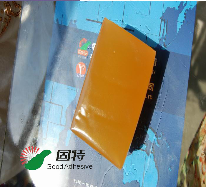 Yellow and semi-transparent  Hot melt  adhesive for envelop seaming Packaging hot melt pressure sensitive glue adhesive