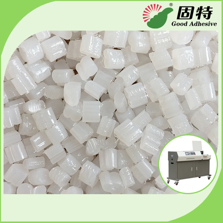 Spine Bookbinding Hot Melt Glue Pellets , Yellowish Industrial Strength Hot Glue